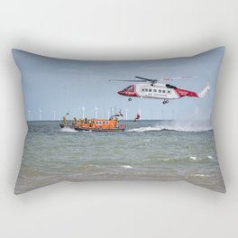 Rhyl Air Sea Rescue Rectangular Pillow