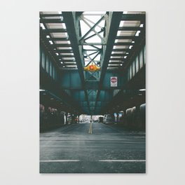 Under the M Canvas Print