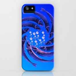 Fishes Dancing iPhone Case