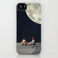 I Gave You the Moon for a Smile iPhone SE Slim Case