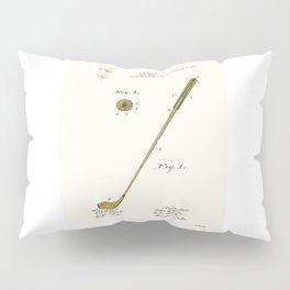 Golf Club Patent - Circa 1903 Pillow Sham