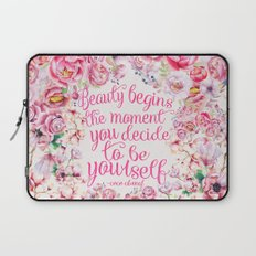 be yourself.  Laptop Sleeve