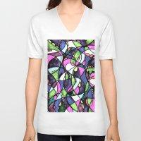 wonderland V-neck T-shirts featuring WONDERLAND by JESSIE WEITZ