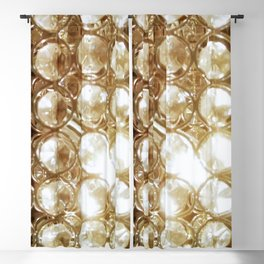 Brilliant Crystals and Gold Tones Blackout Curtain