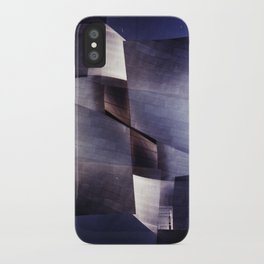 disney concert hall 2 (35mm multi exposure) iPhone Case