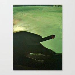 Cigarette and a Hot Tub Canvas Print