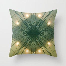 Quad Tree #3 Throw Pillow