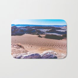 Valle de la Luna (Moon Valley) in San Pedro de Atacama, Chile Bath Mat