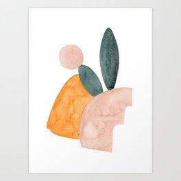 oniric landscape Art Print