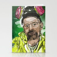 walter white Stationery Cards featuring Walter White  by Madows