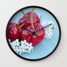 Cherry Beauty Wall Clock