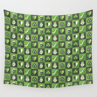 irish Wall Tapestries featuring IRISH EYES ARE SMILING by Daisy Beatrice