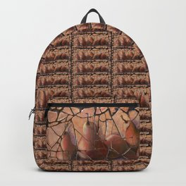 The Pears Fresco With a Crackle Finish #Society6 Backpack