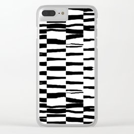 Break Hand Lines 01 Clear iPhone Case