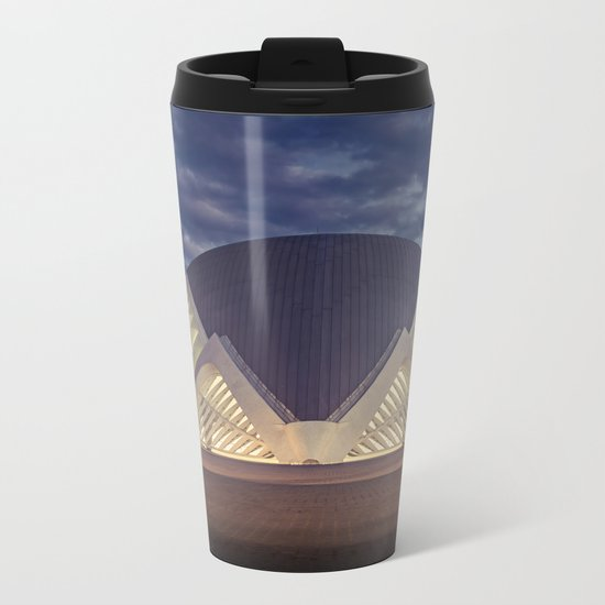 HEMISFÈRIC Metal Travel Mug