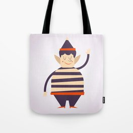 Santa's elf says HI Tote Bag