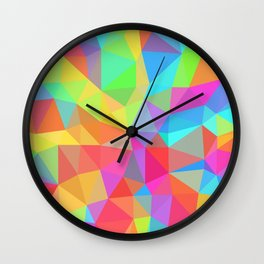 Collider Scope Wall Clock