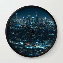 urban night Wall Clock