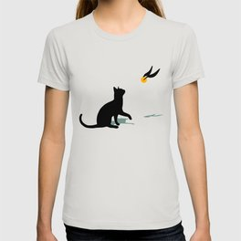 Cat and Snitch T-shirt