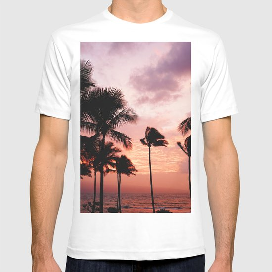 Palm Tree Sunset by nauticaldecor