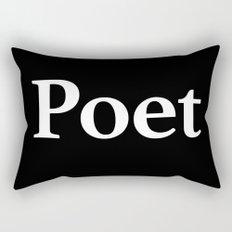 Poet inverse edition Rectangular Pillow