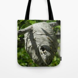 Yellow Jacket Nest Tote Bag
