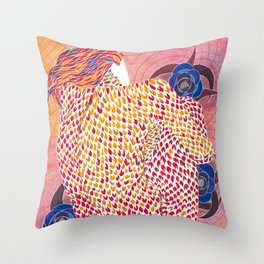 Zhar Ptitsa (Fire Bird) Throw Pillow