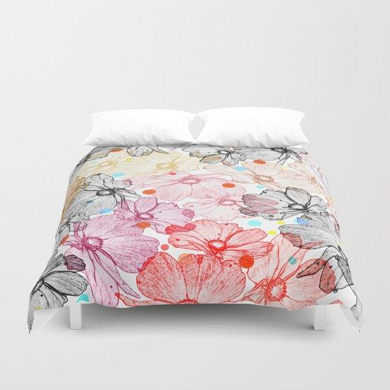Flower carpet(22). Duvet Cover