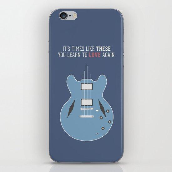 Like These Times iPhone & iPod Skin