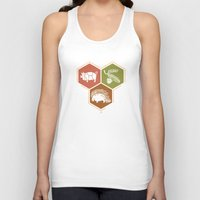 math Tank Tops featuring simple math by 7115