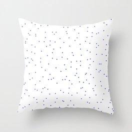 ADALYN ((berry blue)) Throw Pillow