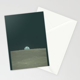 """Original Photograph """"Harvest Moon"""" from Apollo 11 Stationery Cards"""