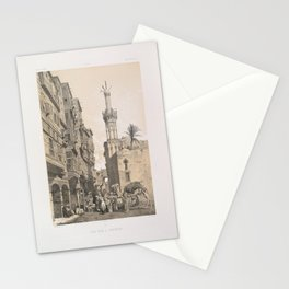 A street, in Rosette ,1843 Stationery Cards