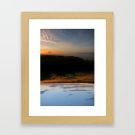 Rivers of Day & Lakes of Night Framed Art Print