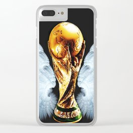Football forever Clear iPhone Case