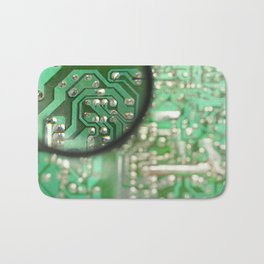 Circuit board Bath Mat