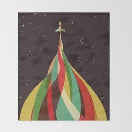 Kaleidoscope to the Stars Throw Blanket