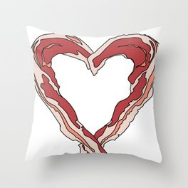 Baconlove Throw Pillow