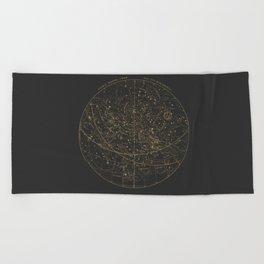 Visible Heavens - Dark Beach Towel