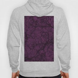 Byzantium Purple Hunting Camo Pattern Hoody