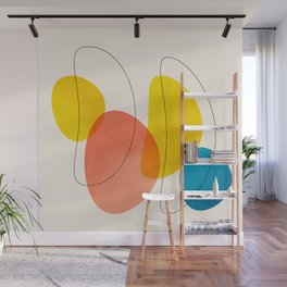 Jellybean Acid Fingerprints Wall Mural