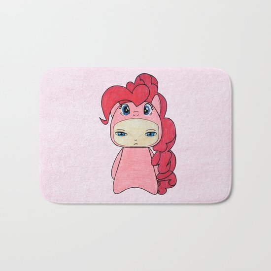 A Boy - Pinkie Pie Bath Mat