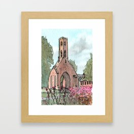 Greyfriars Tower Framed Art Print