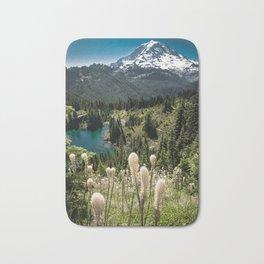 Mt. Rainier, Eunice Lake, Bear Grass Bath Mat