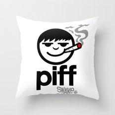 p i f f  Throw Pillow