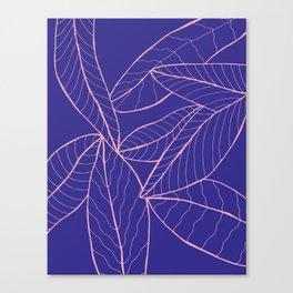 HOJAS Canvas Print