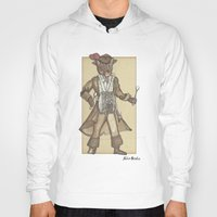 drum Hoodies featuring Drum Cat by Felis Simha