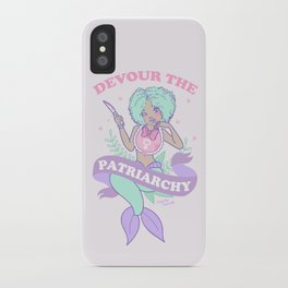 Devour The Patriarchy iPhone Case
