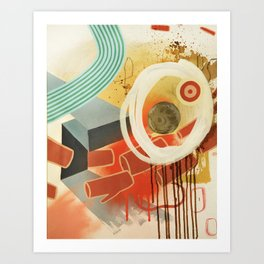 Slow Motion Art Print