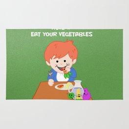 Rule #1: Eat your vegetables Rug